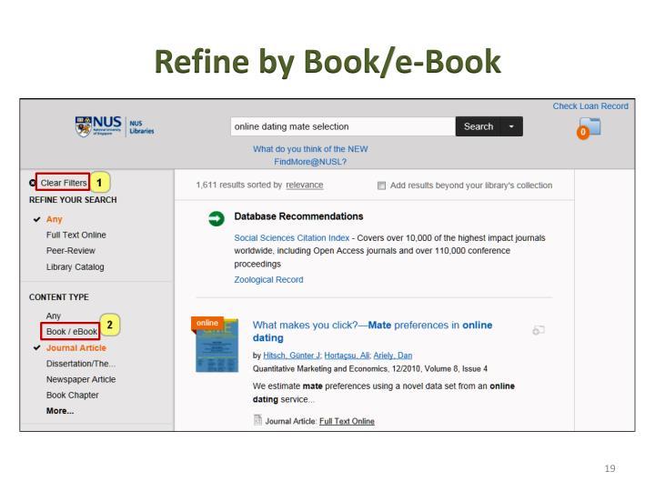Refine by Book/e-Book