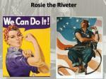 rosie the riveter