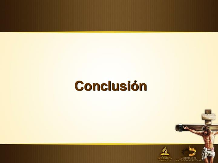 Conclusin