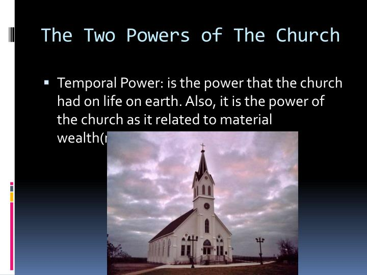 The Two Powers of The Church