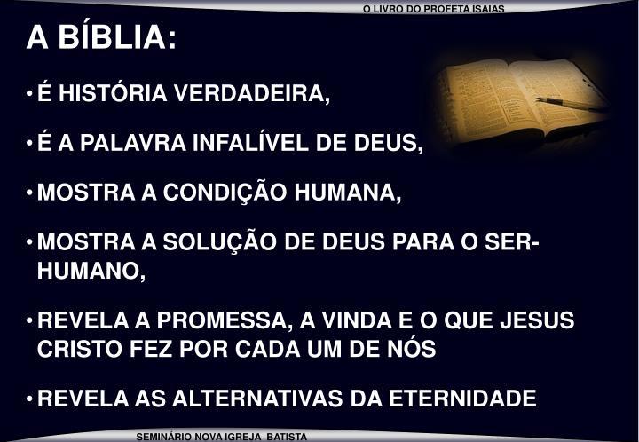 A BÍBLIA:
