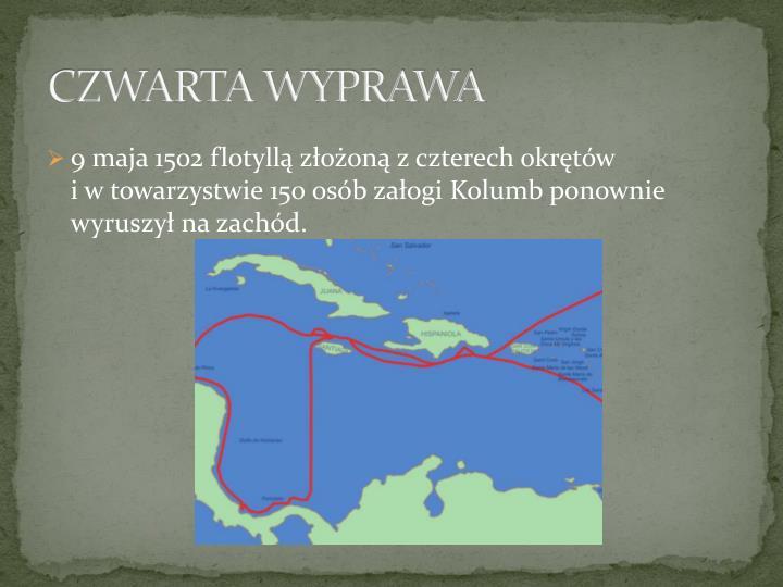 CZWARTA WYPRAWA