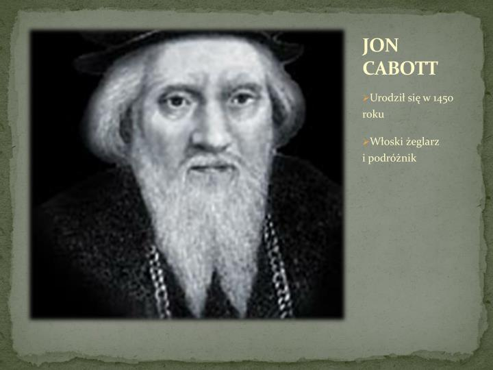 JON CABOTT