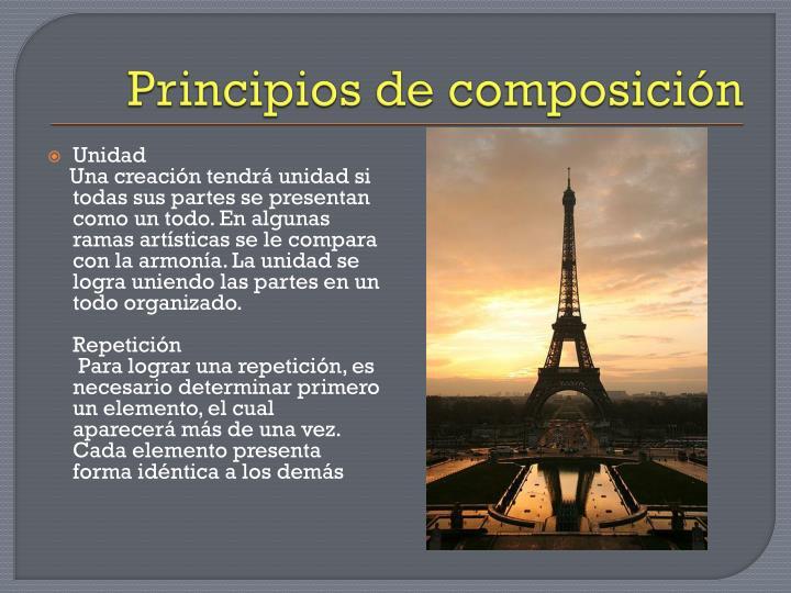 Principios de composición