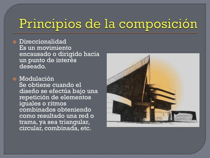 Principios de la composición