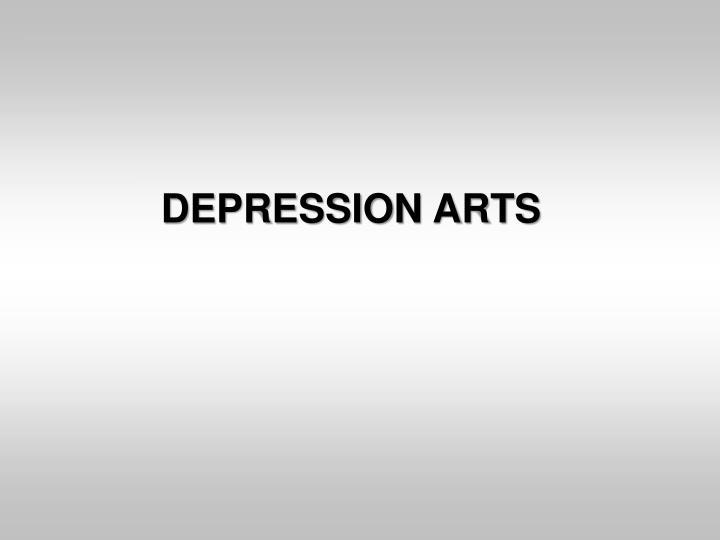 DEPRESSION ARTS