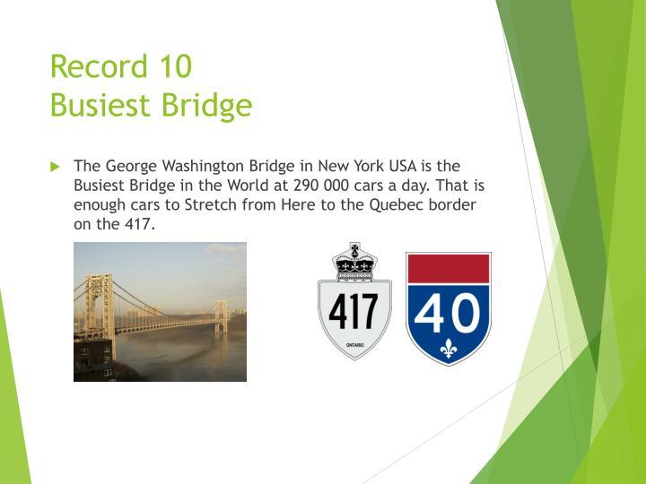 Record 10
