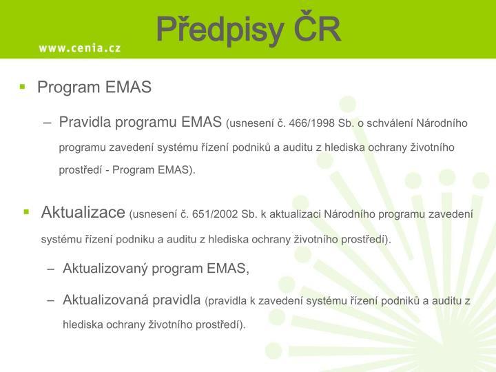 Program EMAS