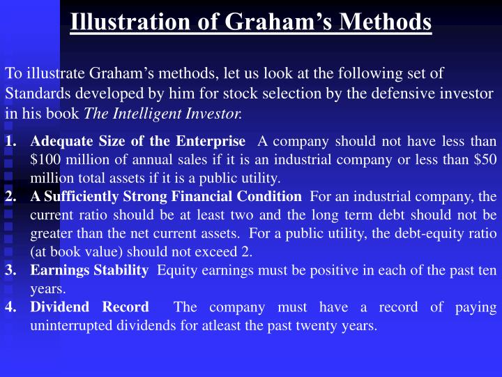 Illustration of Graham's Methods