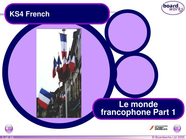 KS4 French