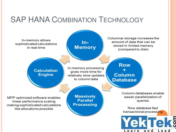 SAP HANA Combination Technology