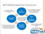 sap hana combination technology