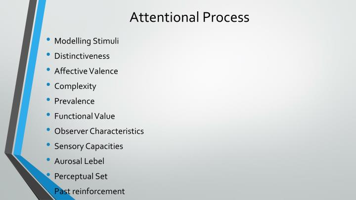 Attentional Process