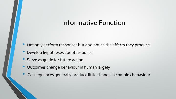 Informative Function