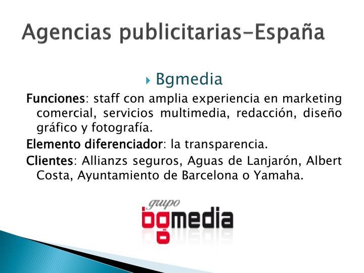 Agencias publicitarias-España