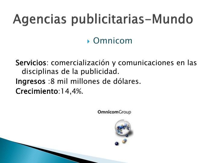 Agencias publicitarias-Mundo