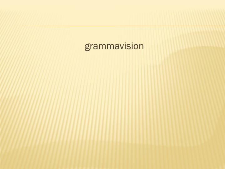grammavision