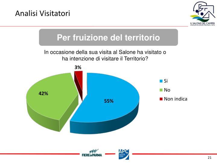 Analisi Visitatori