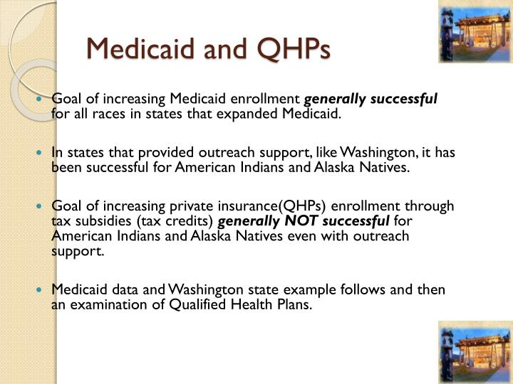 Medicaid and QHPs
