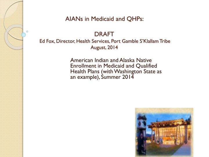 AIANs in Medicaid and QHPs: