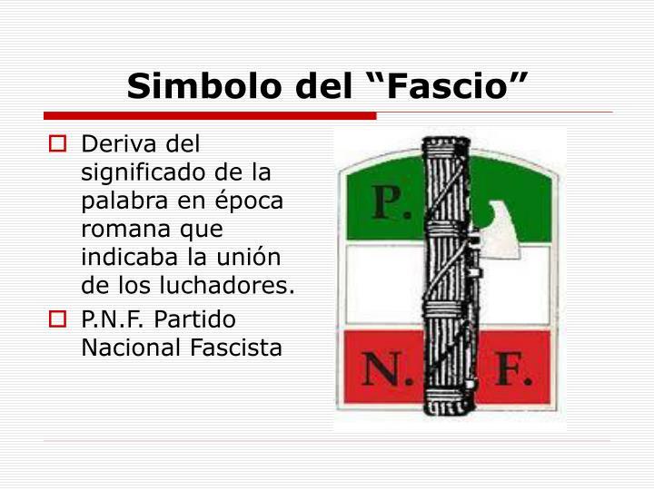 """Simbolo del """"Fascio"""""""