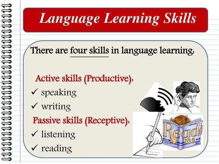 Language Learning Skills