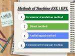 methods of teaching esl efl