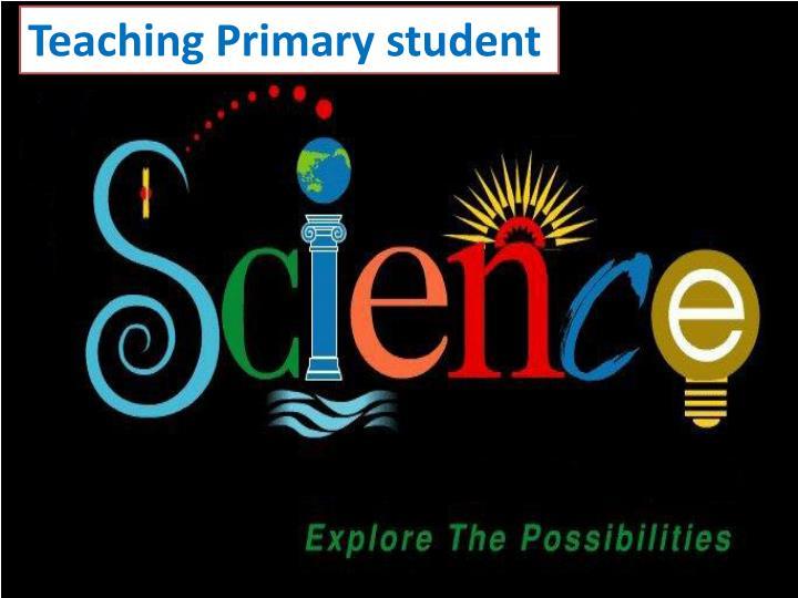 Teaching Primary student