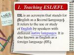 teaching esl efl