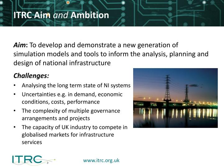 Itrc aim and ambition
