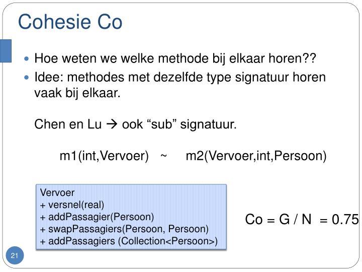 Cohesie Co