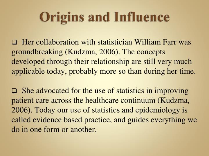 influence of philosophy on knowledge development in nursing The purpose of this paper is to report the influence of the metaparadigm of nursing on the professional identity devel- of a metaparadigm of nursing, influences nurses' understanding of what nursing is the concepts in relation to my own philosophy of nursing.