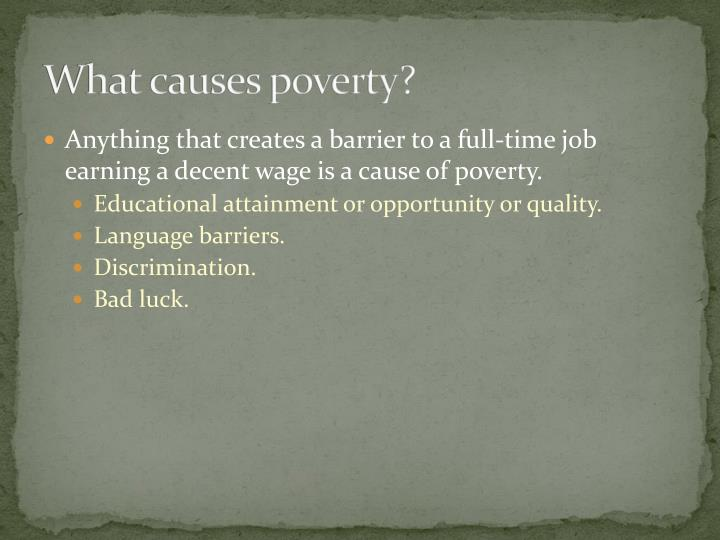 market failure of inequality and poverty Market failure: poverty and income inequality order instructions listed below are several summary statements from the 2010 census report: .