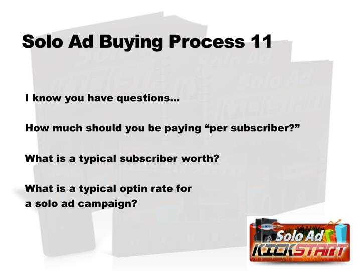 Solo Ad Buying Process 11