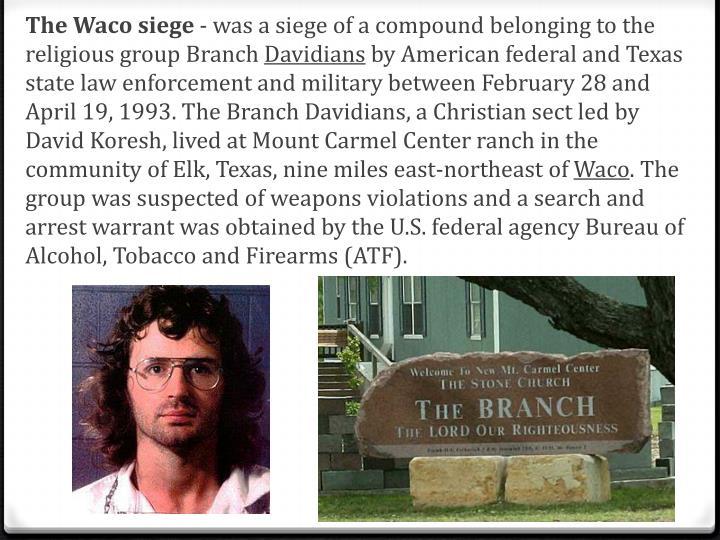 TheWaco siege