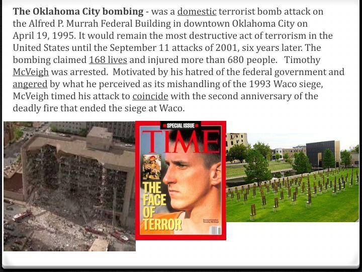 TheOklahoma City bombing