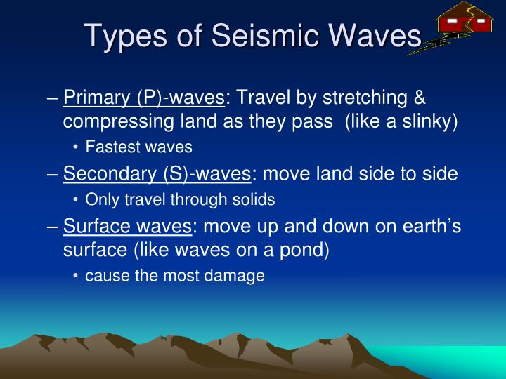 Types of Seismic Waves