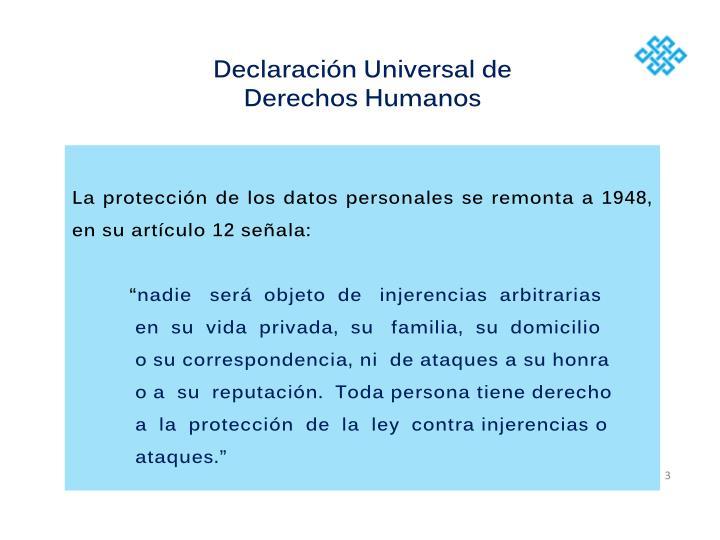 Declaracin Universal de Derechos Humanos
