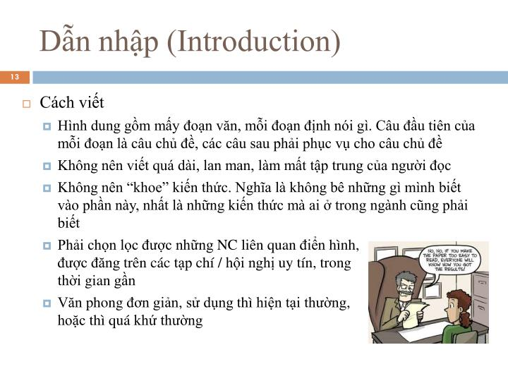 Dẫn nhập (Introduction)