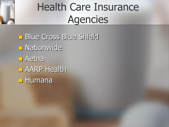 Health Care Insurance Agencies