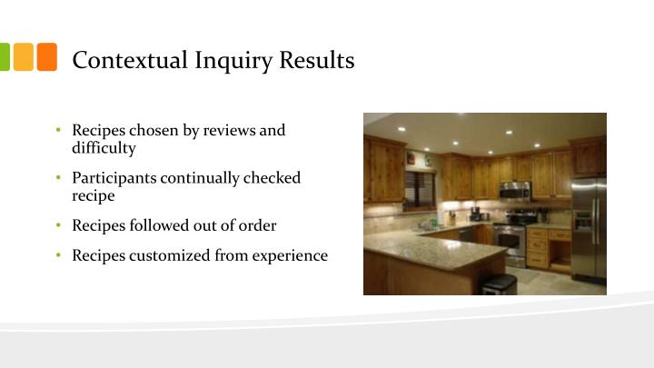 Contextual Inquiry Results