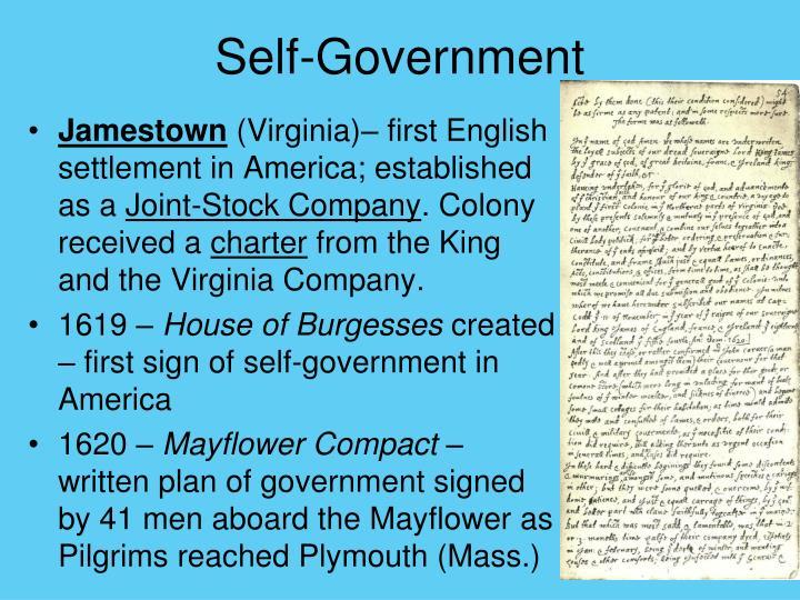 Self-Government