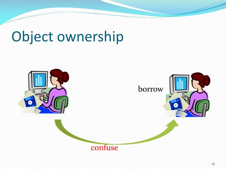 Object ownership