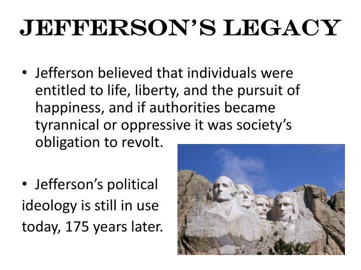 Jefferson's Legacy