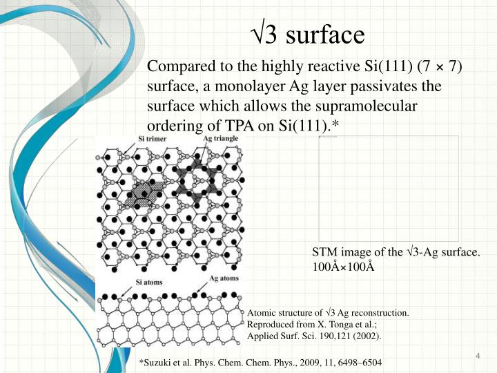 √3 surface
