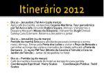 itiner rio 20123