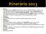 itiner rio 20133
