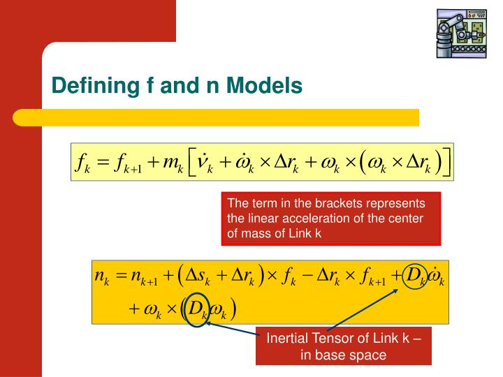Defining f and n Models
