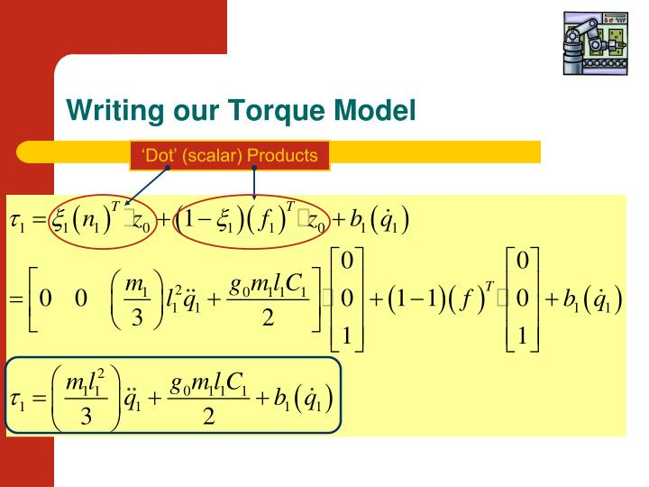 Writing our Torque Model