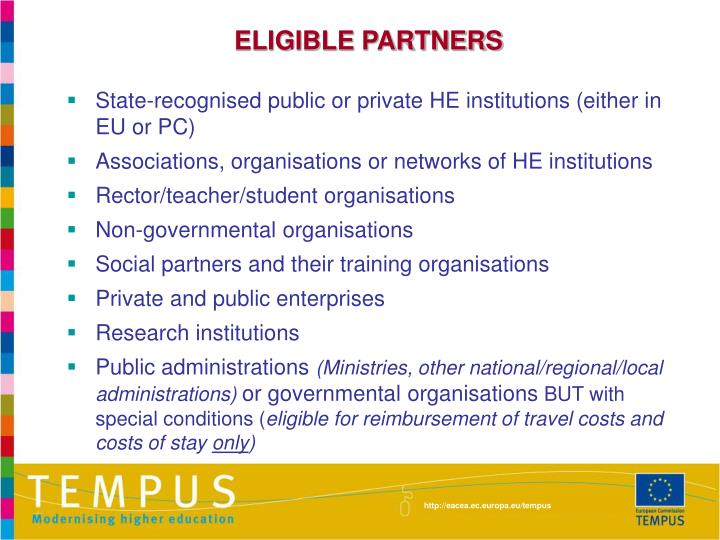 ELIGIBLE PARTNERS
